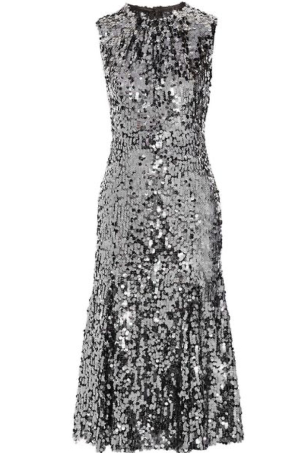 Dolce & Gabbana Sequin midi dress 0 Preview Images