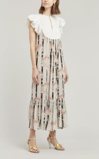 byTiMo Broderie Anglaise Maxi-Dress 3 Preview Images