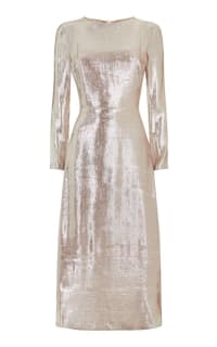 Hobbs Debutante Lame Dress 3 Preview Images