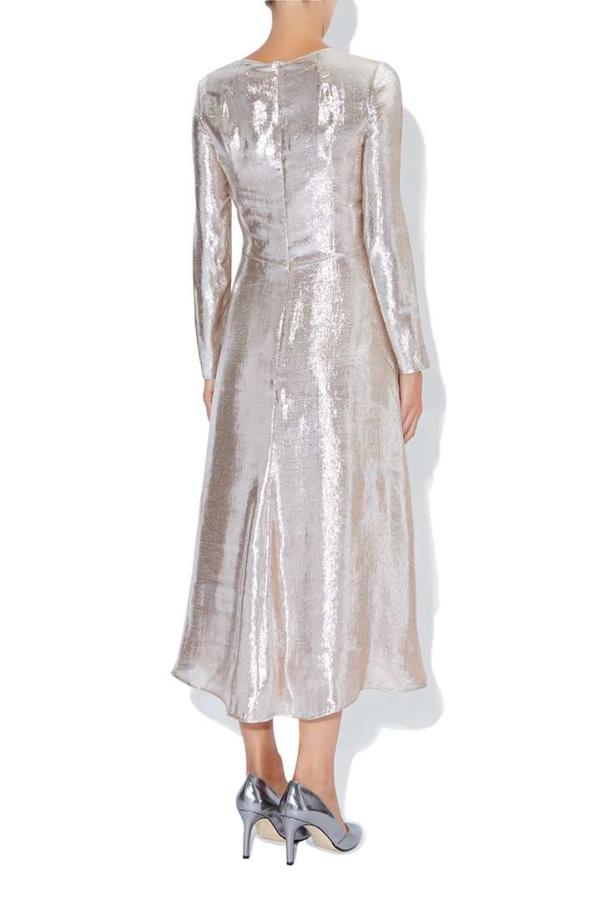 Hobbs Debutante Lame Dress