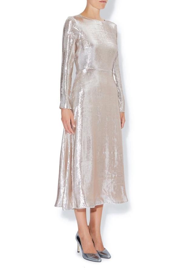 Hobbs Debutante Lame Dress 2