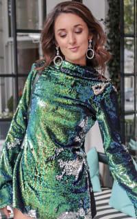Halpern Sequin Embellished Top 2 Preview Images
