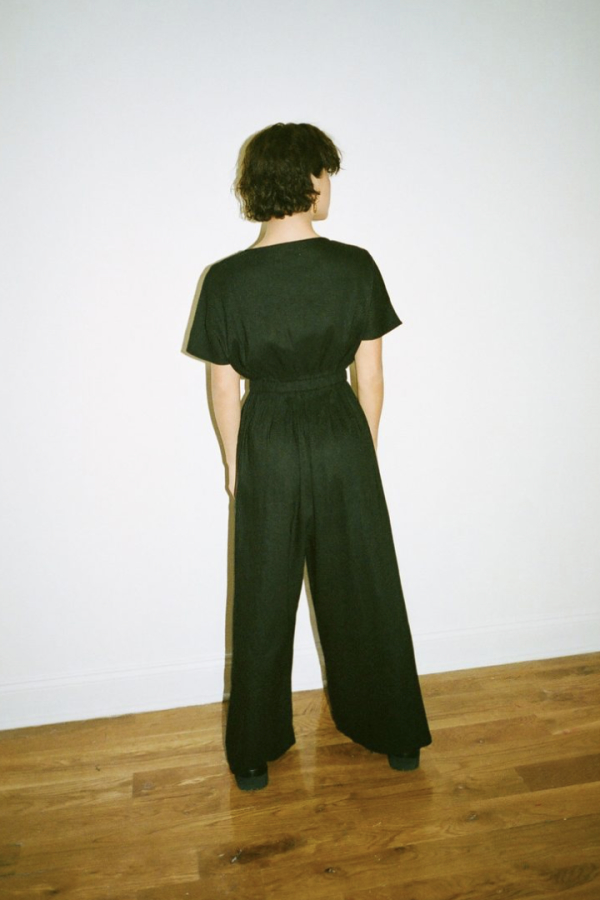 WRAY Tie Front jumpsuit 4 Preview Images