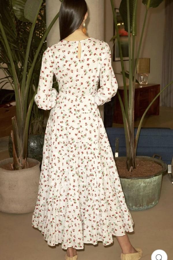 Image 5 of Rixo pip dress