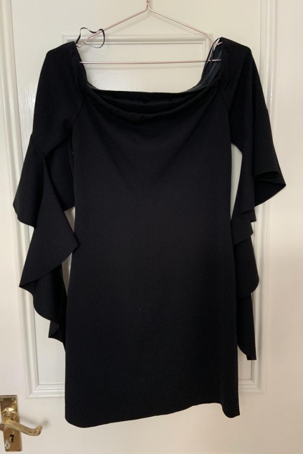 Pinko Off-The-Shoulder Dress 4