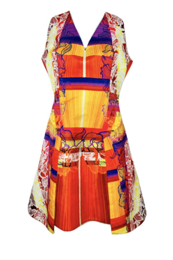 Peter Pilotto Multi colour dress