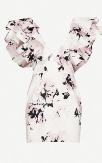 Alexandre Vauthier Floral mini dress Preview Images