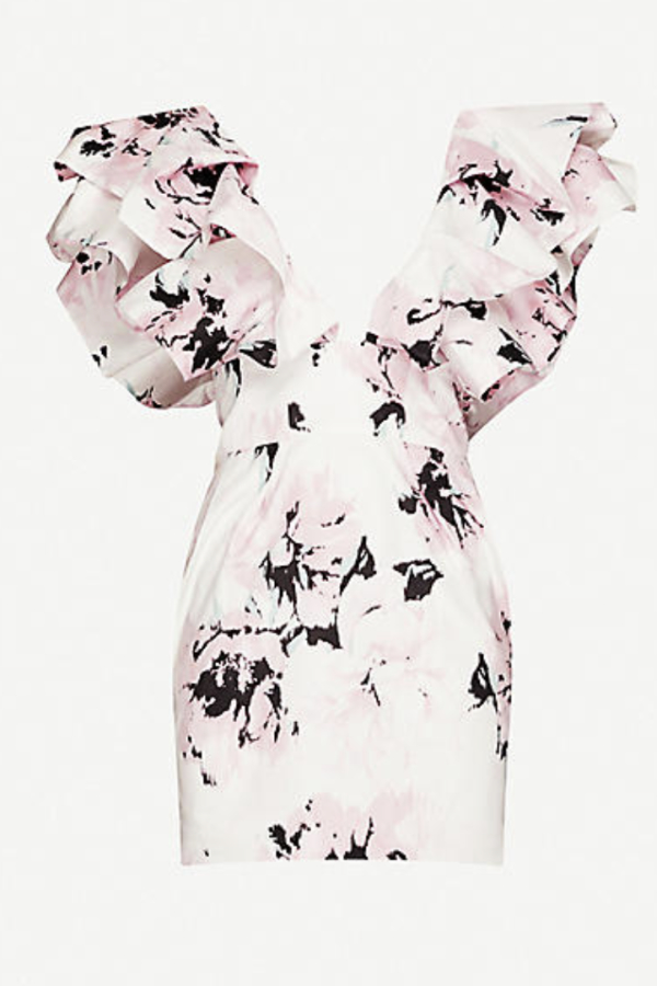 Alexandre Vauthier Floral mini dress