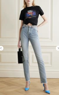 alexandre vauthier crystal jeans 2 Preview Images