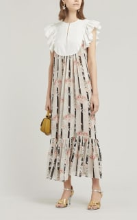 byTiMo Broderie Anglaise Maxi-Dress 2 Preview Images