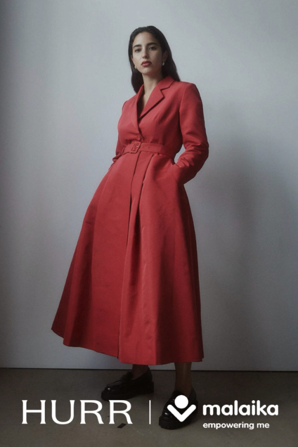 BOUGUESSA Gown coat 2