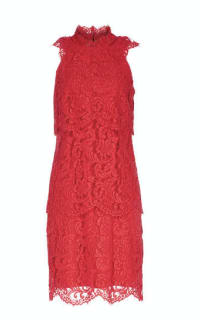 Reiss Sophia Lace Overlay Dress 3 Preview Images