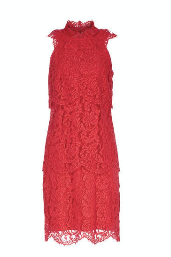 Reiss Sophia Lace Overlay Dress 3