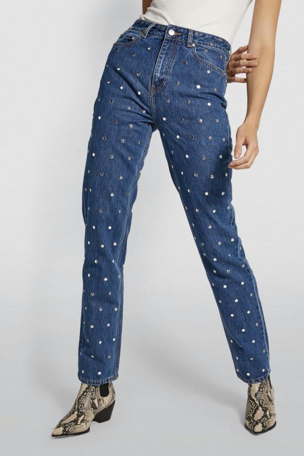 Image 3 of Ganni studded jeans