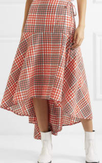 Ganni Checked Skirt 2 Preview Images