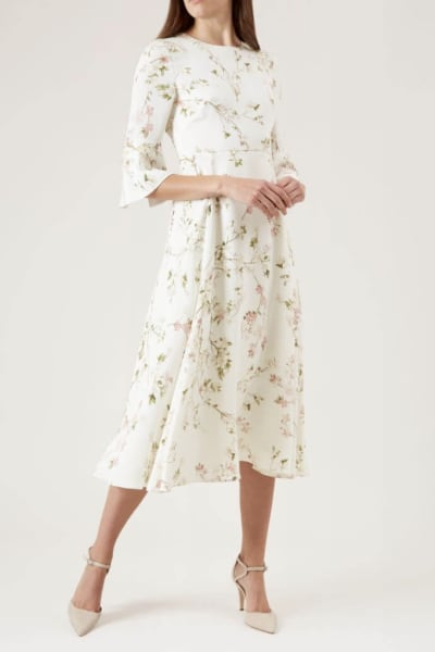 Hobbs Agatha Silk Dress 2