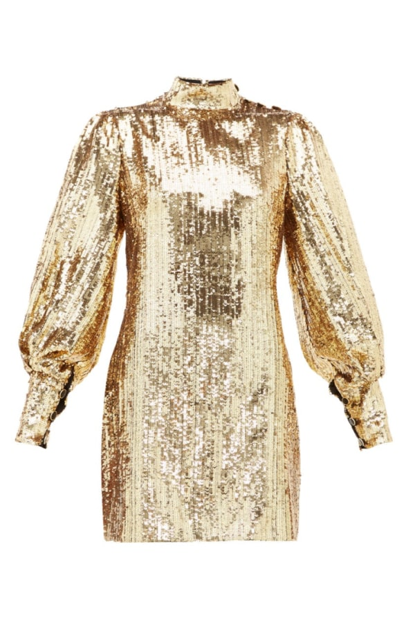 Image 1 of Borgo De Nor lima sequinned mini dress
