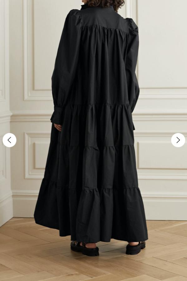 Avavav Ruffled Tiered Dress 3
