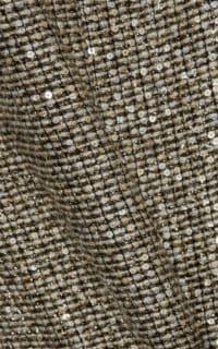 Saint Laurent Sequin metallic tweed dress 4 Preview Images