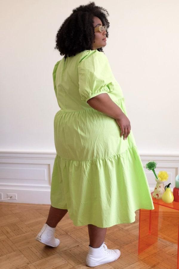 Image 4 of Wray rosemary dress limeade