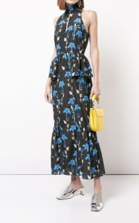 Borgo De Nor Floral printed midi dress 2 Preview Images