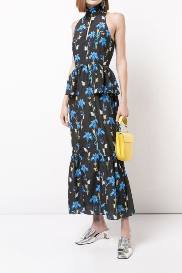 Borgo De Nor Floral printed midi dress 2