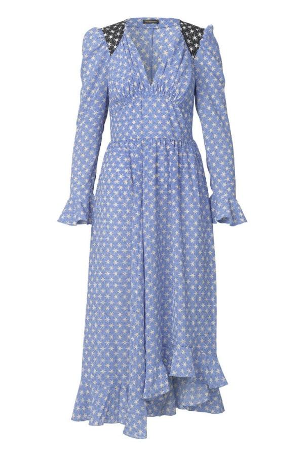 Image 1 of Stine Goya blue print dress