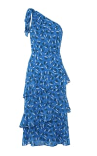 Whistles Almond Print Dobby Dress Preview Images
