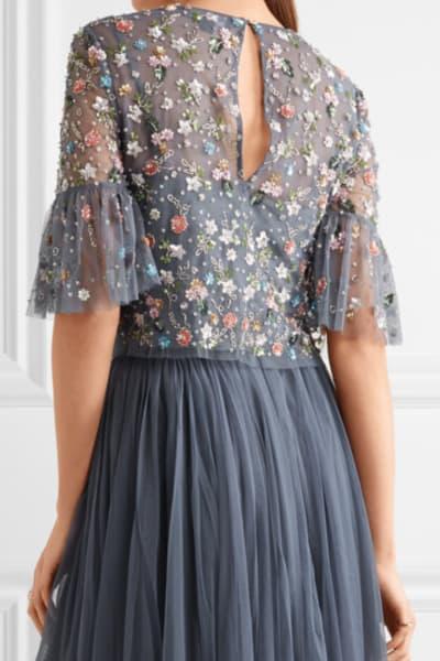 Needle & Thread Starburst tulle top and skirt 3