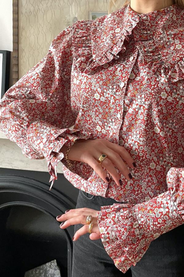 Sigrid Maria Sigrid Blouse - June Meadow 4