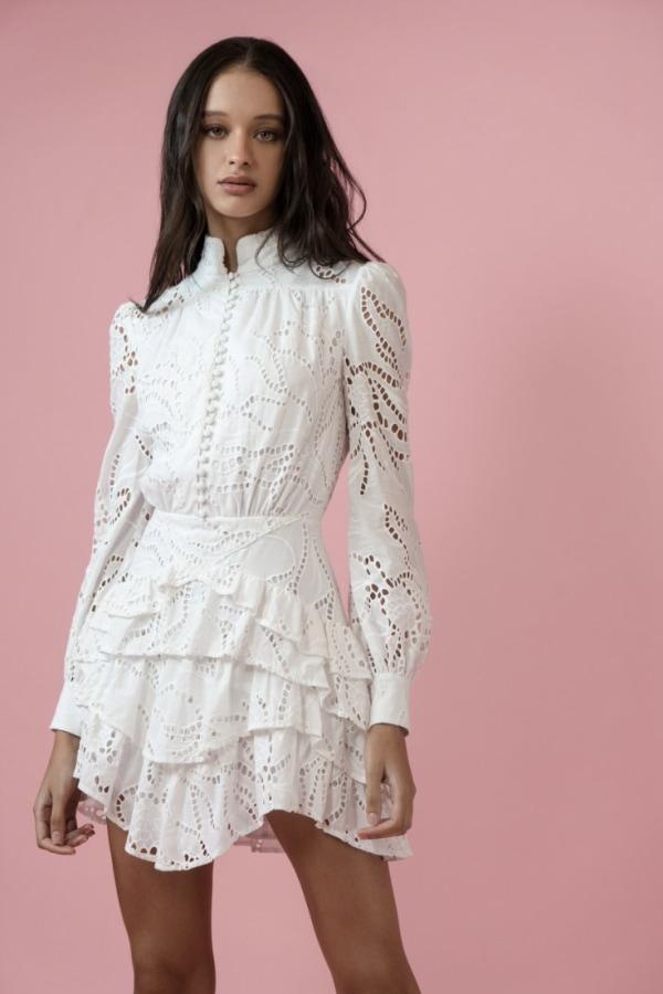 Image 3 of Sau Lee rebecca dress