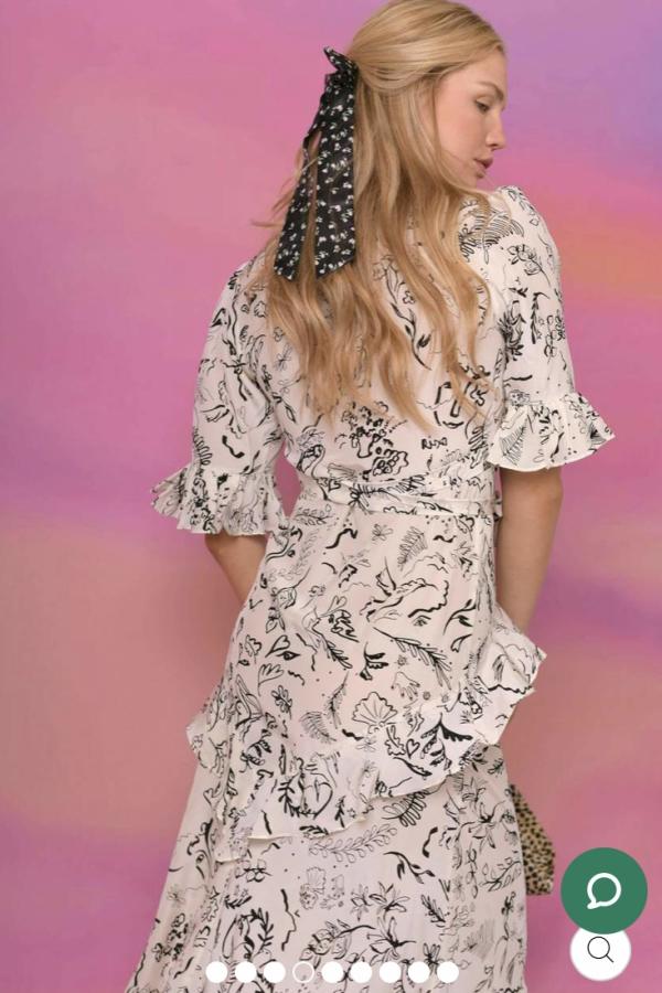 RIXO Rixo x Laura Jackson Dress  1 Preview Images