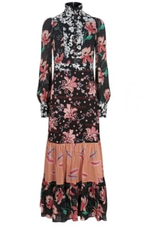 Gucci Printed long Sleeve dress Preview Images
