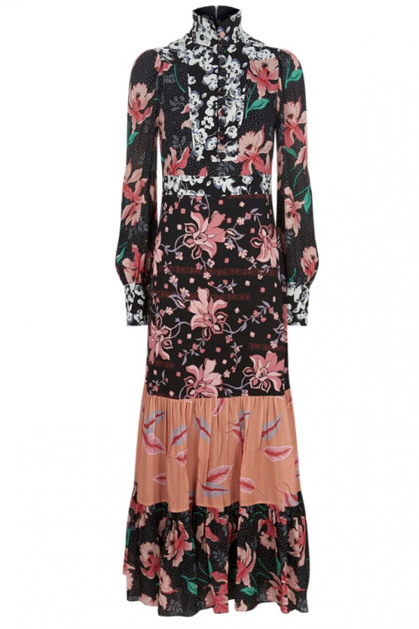 Gucci Printed long Sleeve dress
