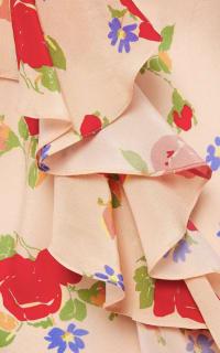 De La Vali Floral off shoulder dress 5 Preview Images