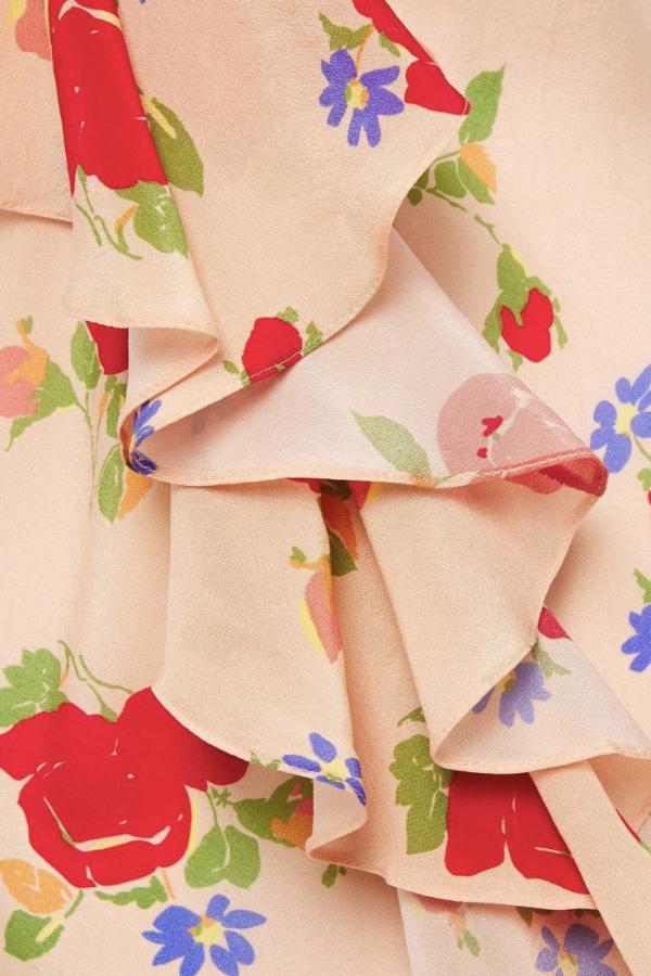 De La Vali Floral off shoulder dress 5