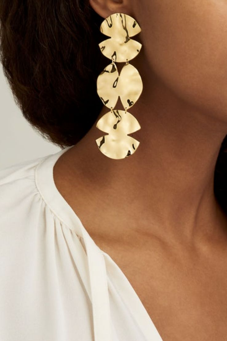 ANISSA KERMICHE Trio Architect Earrings 2 Preview Images