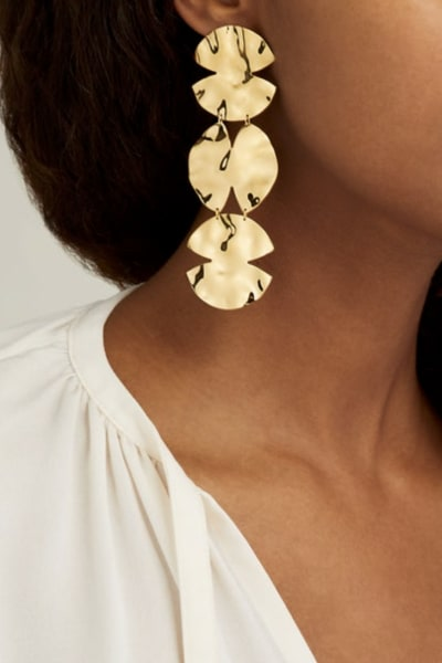 ANISSA KERMICHE Trio Architect Earrings 2