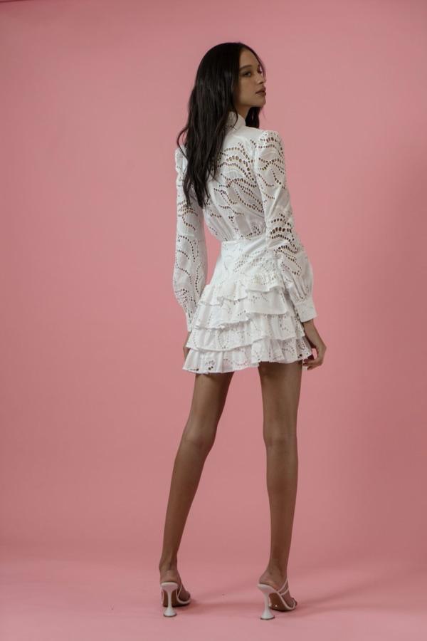 Image 4 of Sau Lee rebecca dress