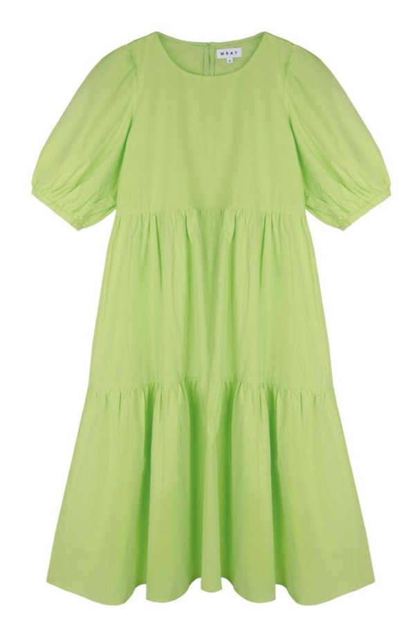 Image 1 of Wray rosemary dress limeade