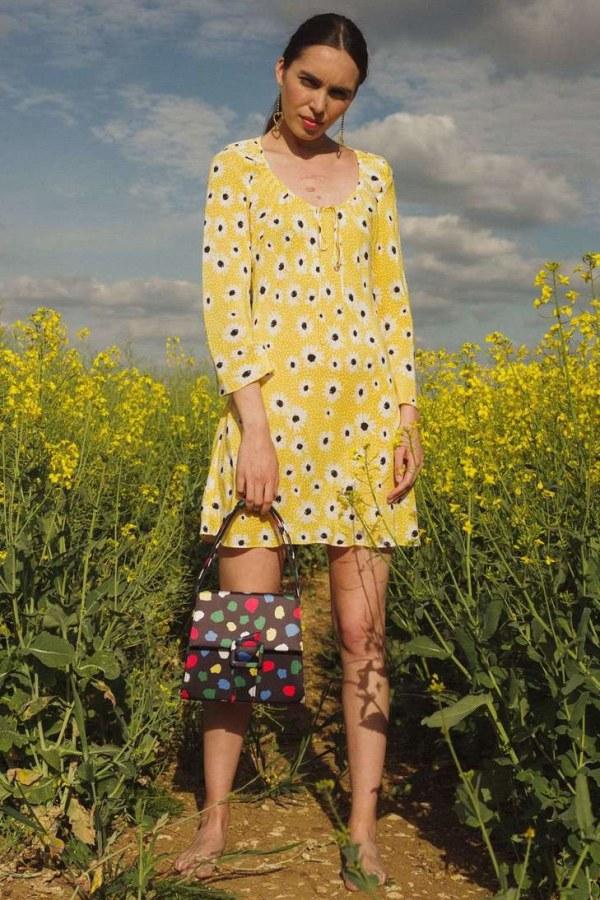 Image 6 of Rixo celeste dress