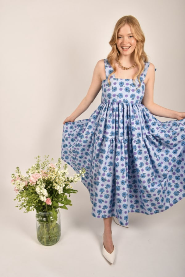 Image 3 of Saluto London the sybil dress
