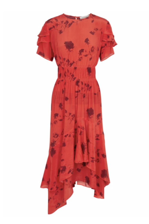 Preen by Thornton Bregazzi Esther printed satin dress 3
