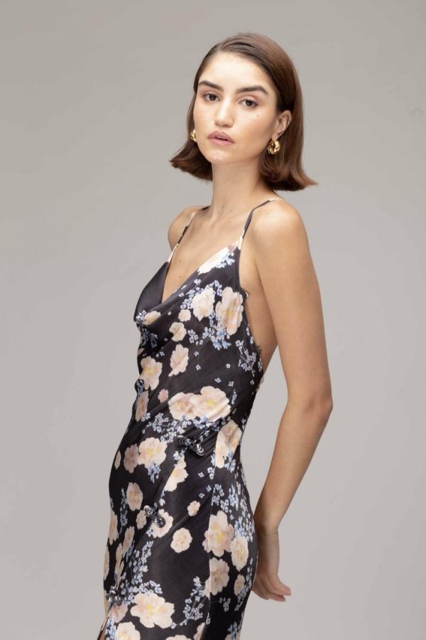 Image 3 of Sau Lee gabrielle dress