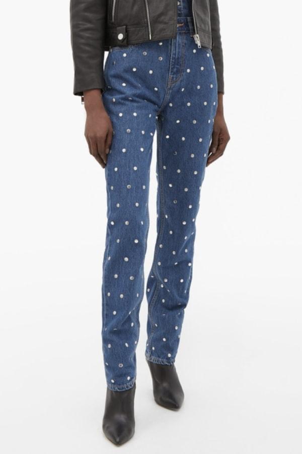 Image 2 of Ganni studded jeans