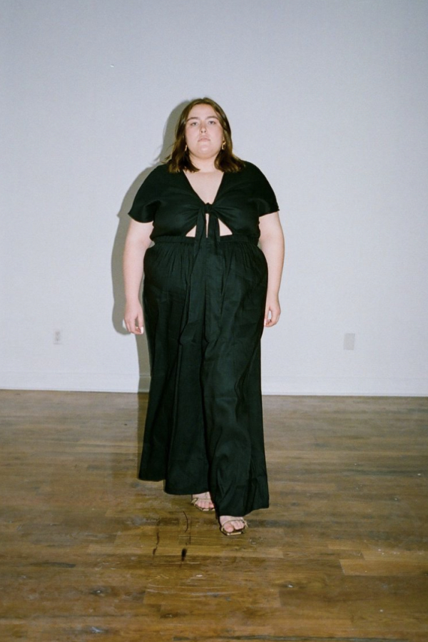 WRAY Tie Front jumpsuit 3 Preview Images