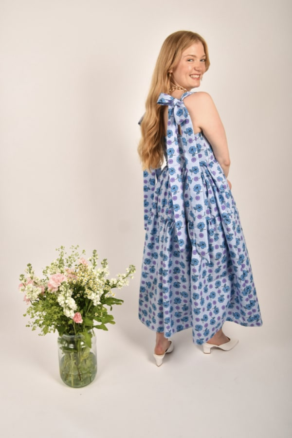 Image 2 of Saluto London the sybil dress