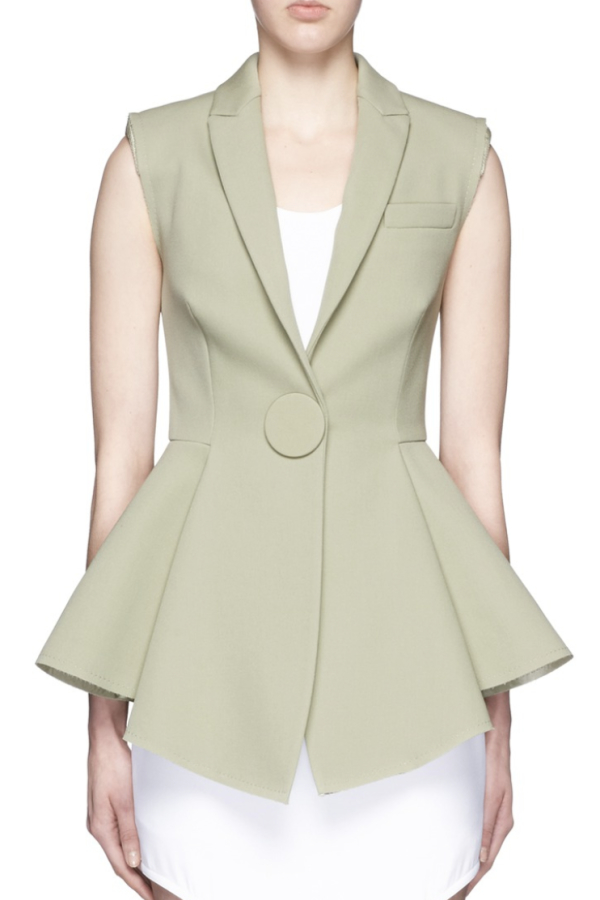 Givenchy Peplum Waistcoat 2