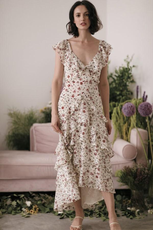 Image 5 of Sau Lee nicole sequin dress