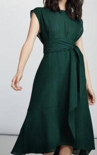 Cefinn Freya Midi Dress - Teal Preview Images